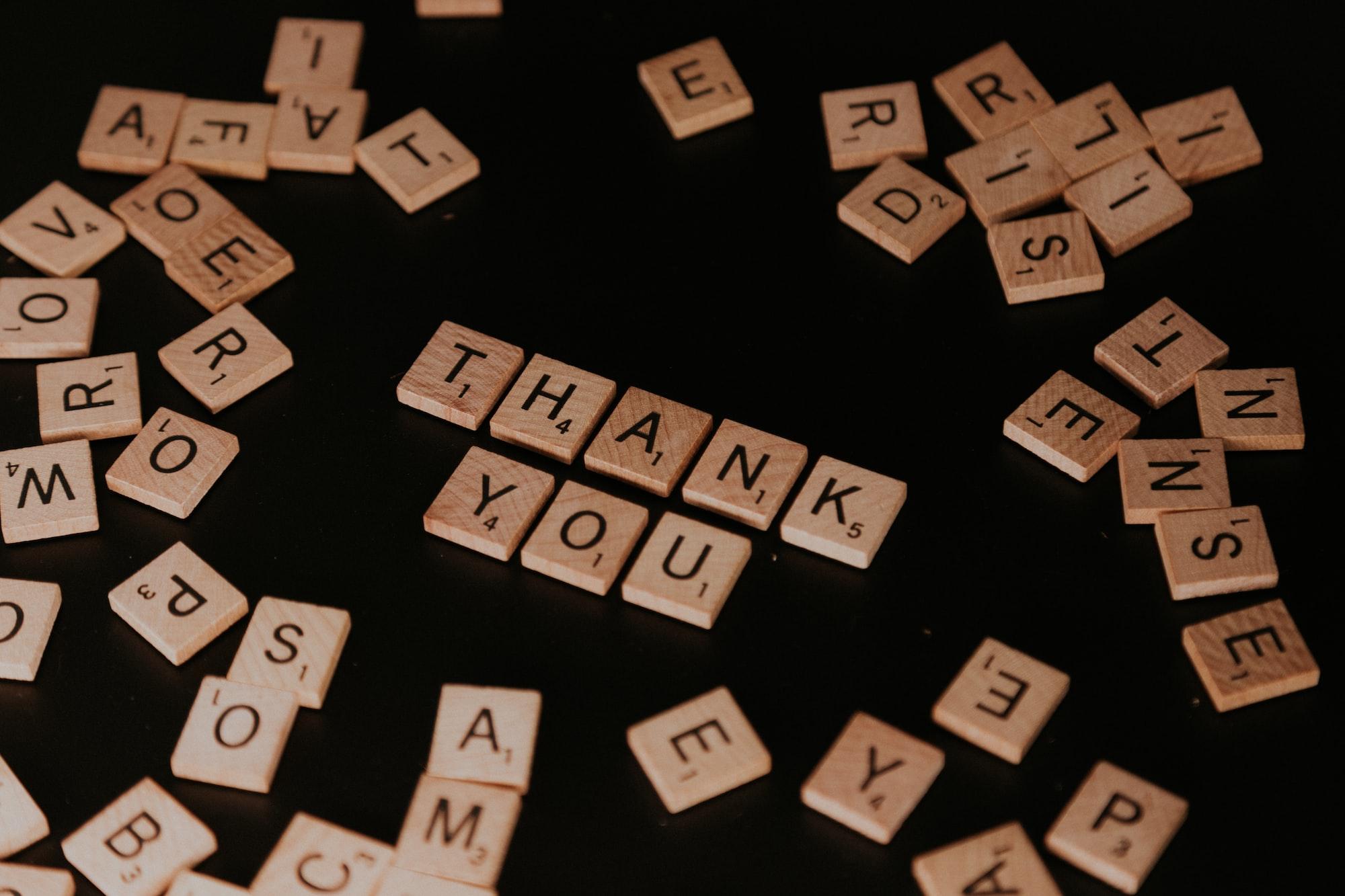 Create a culture of gratitude