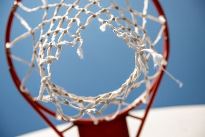 white and red basketball hoop hoop zoom background