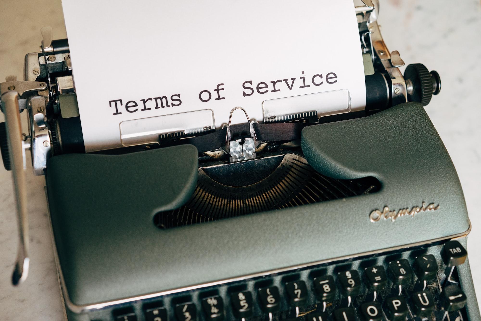 Оферта об оказании услуг