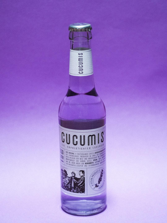 Lavender Liomande by CUCUMIS - Photography Glass Bottle (Plant / Flower) Violet Drink
