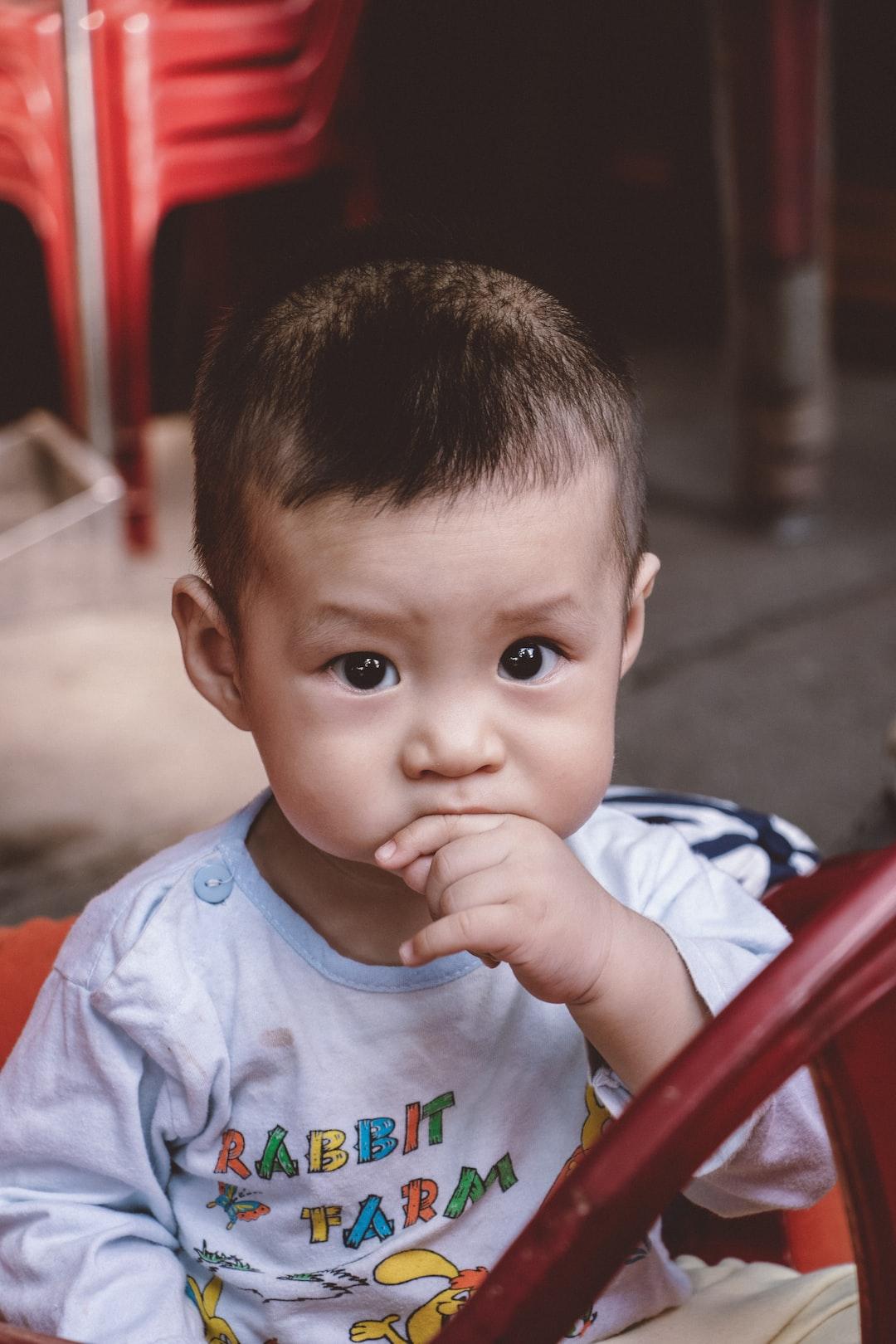 portrait eye child