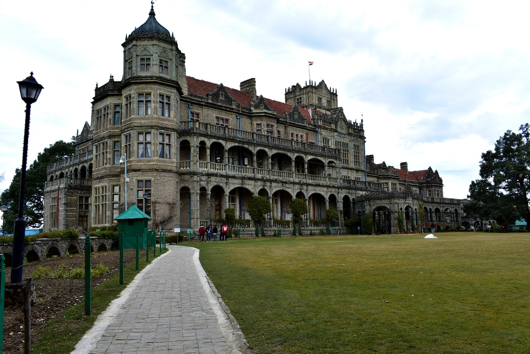 Viceregal Lodge. Victorian style architecture. The 1945 round table conference  was held here.