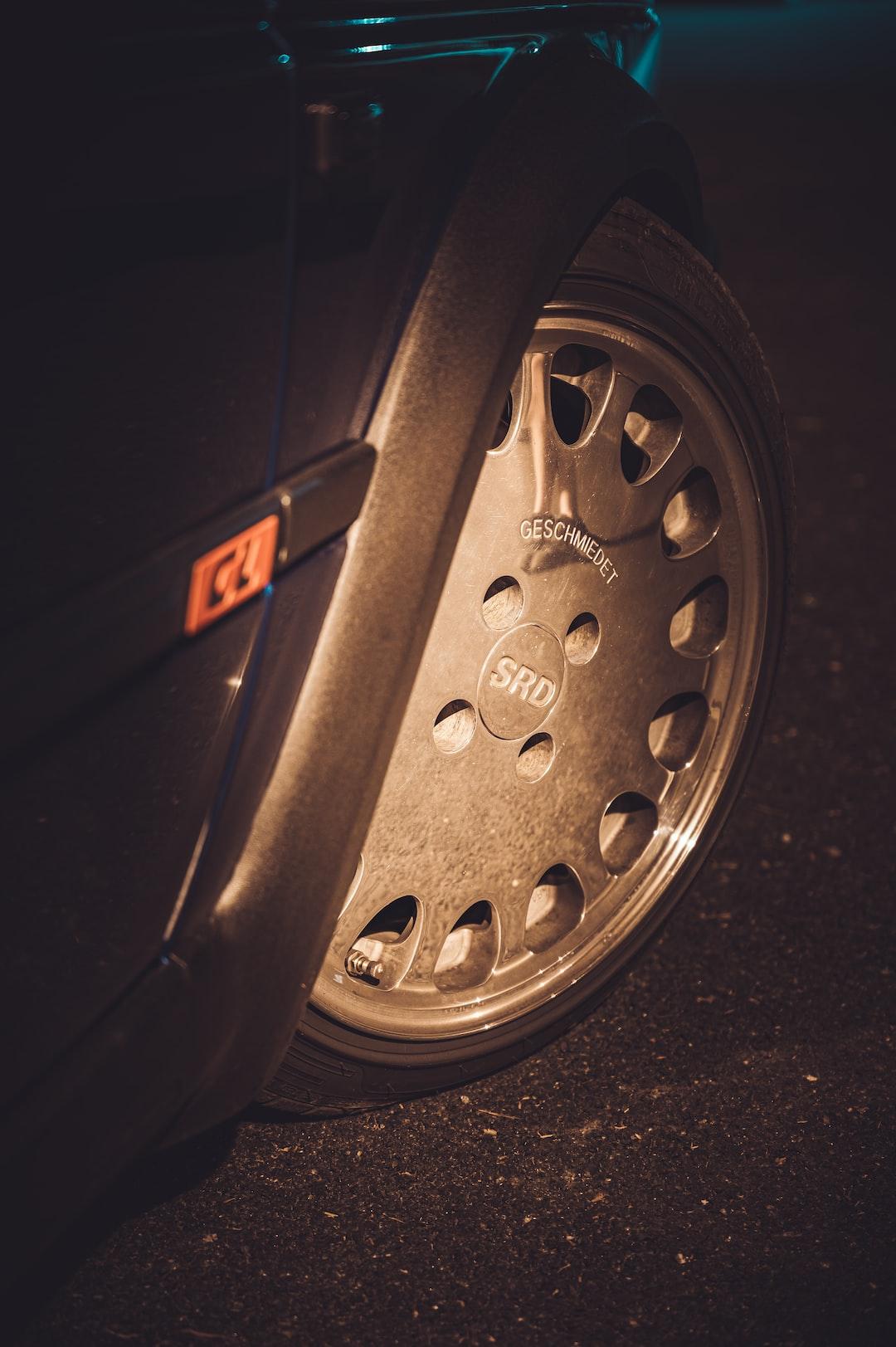 Tuning chromed wheel - Volkswagen Jetta MK2