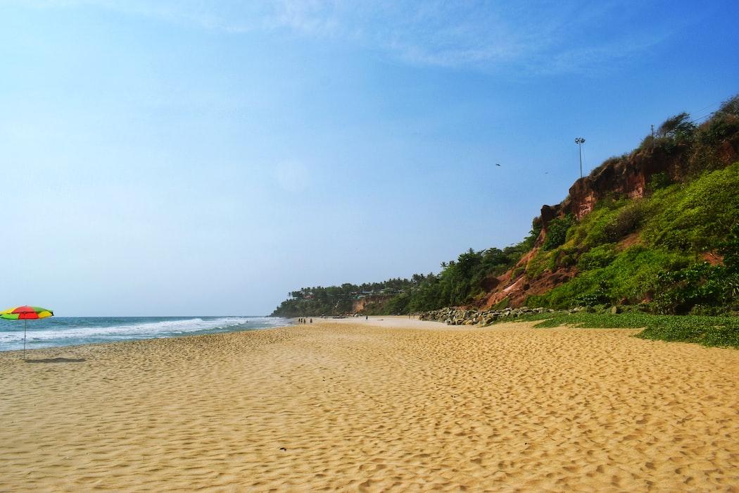 The Varkala Beach
