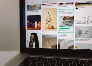 macbook pro displaying facebook page