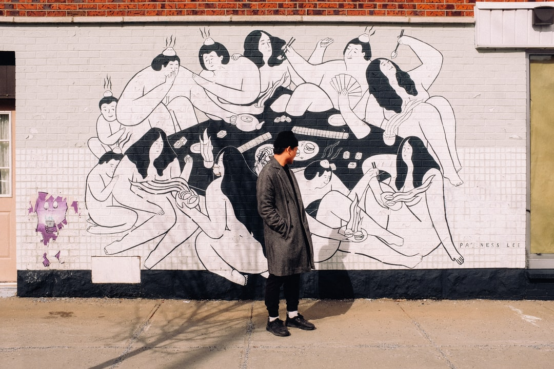 Mural by Ness Lee