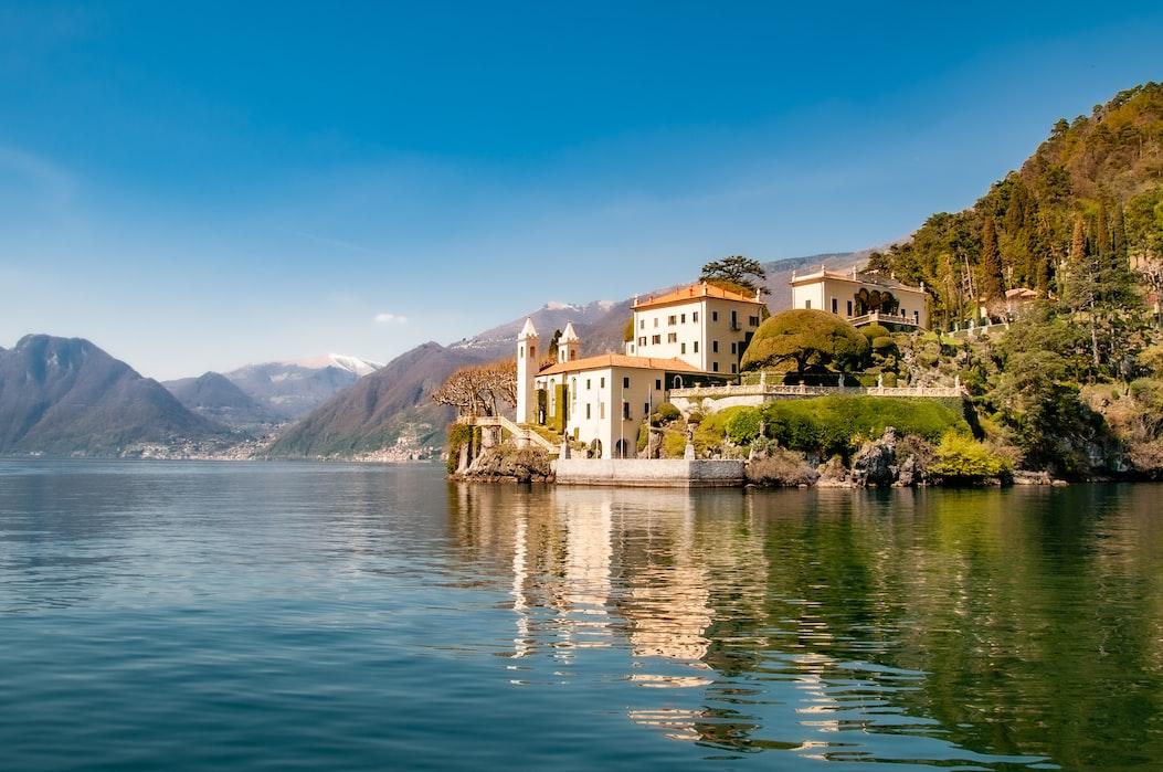 Vakantie in Italië, het Comomeer