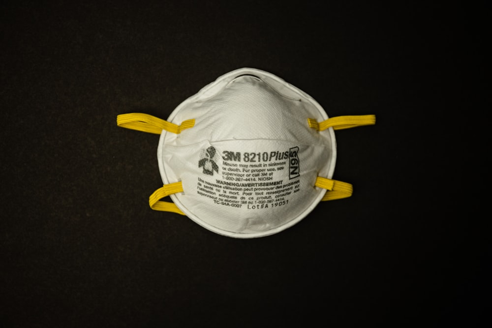 white and yellow plastic pack