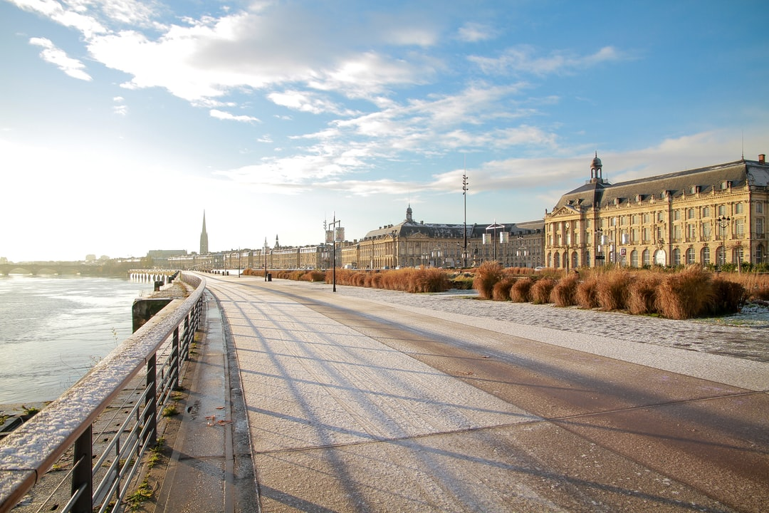 Bordeaux under the Snow #2
