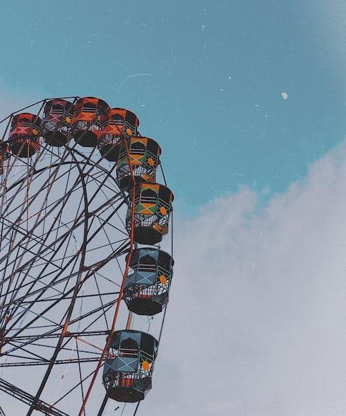 a giant wheel