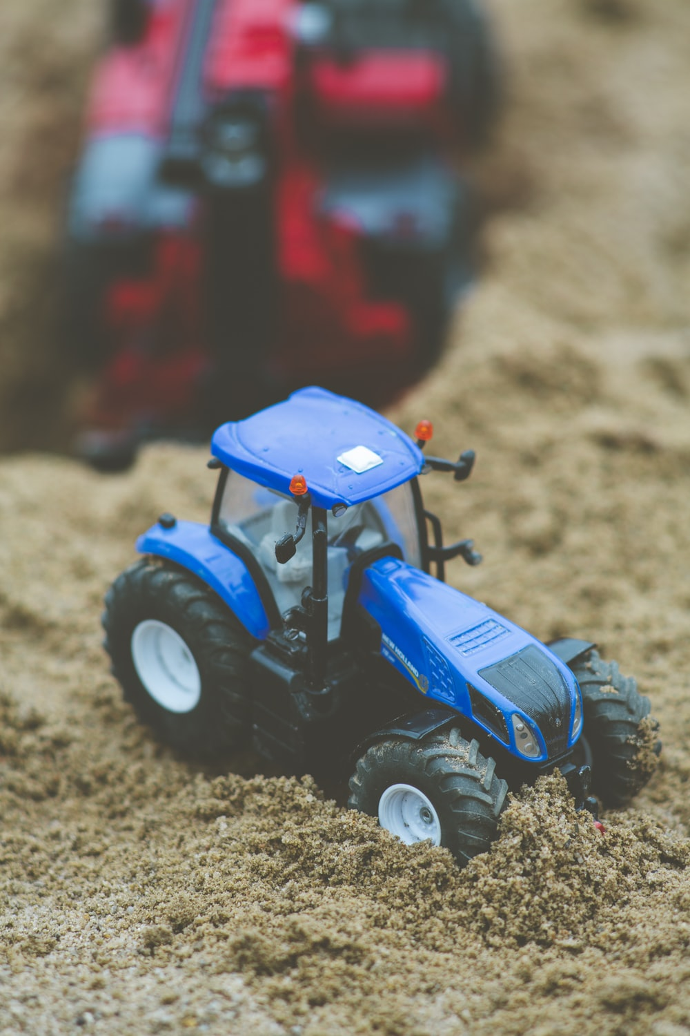 blue and black monster truck toy
