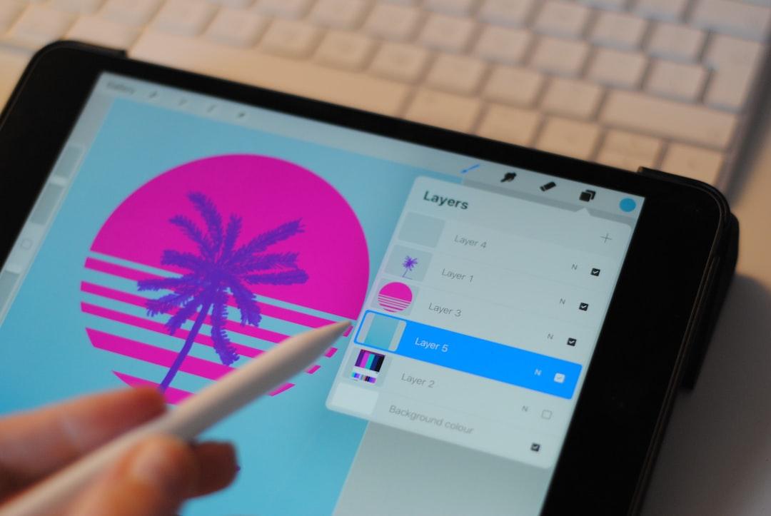 Creative Process using Procreate for iPad