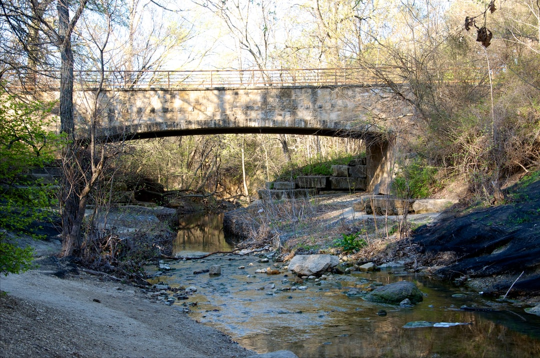 Creek and Bridge