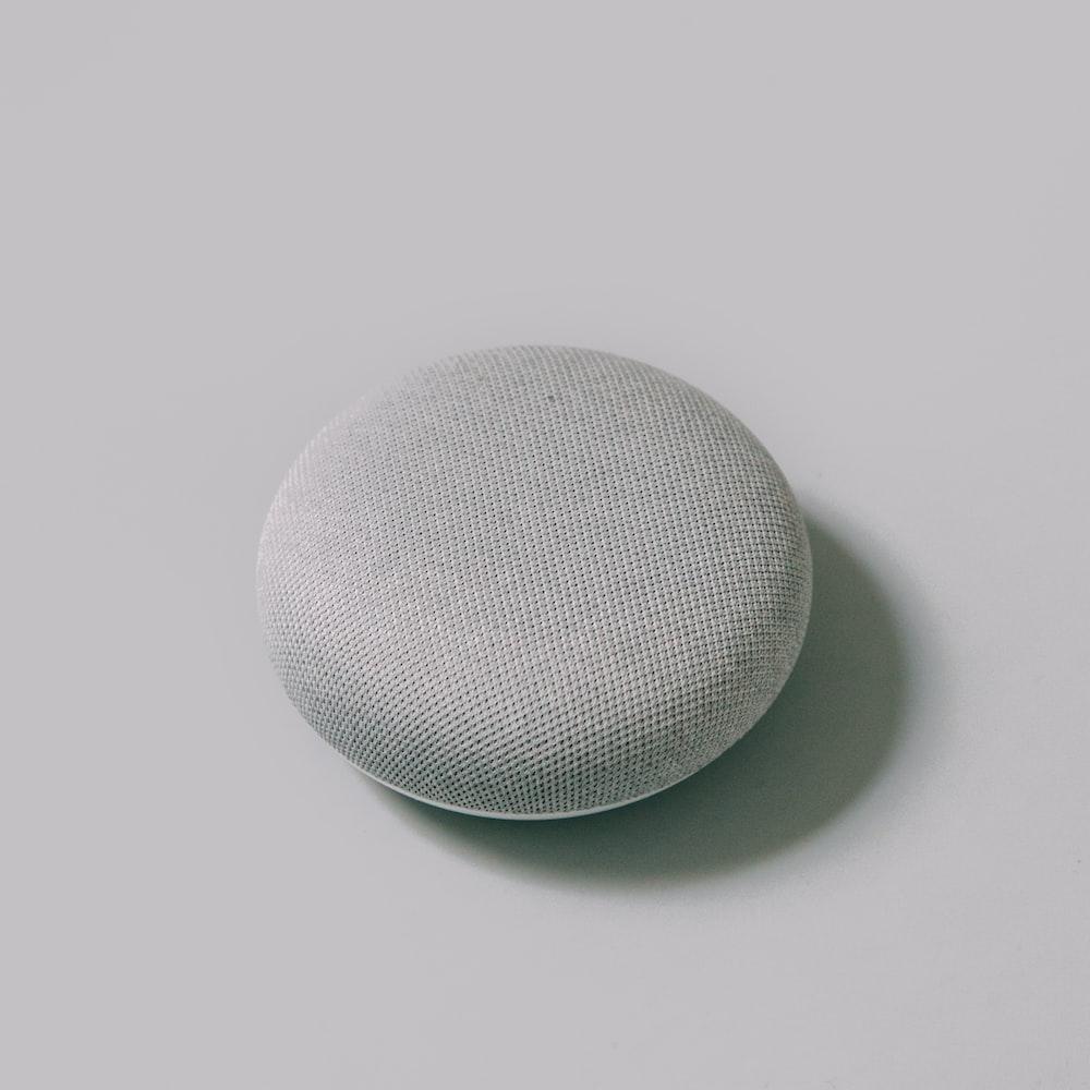 round gray round mesh cover