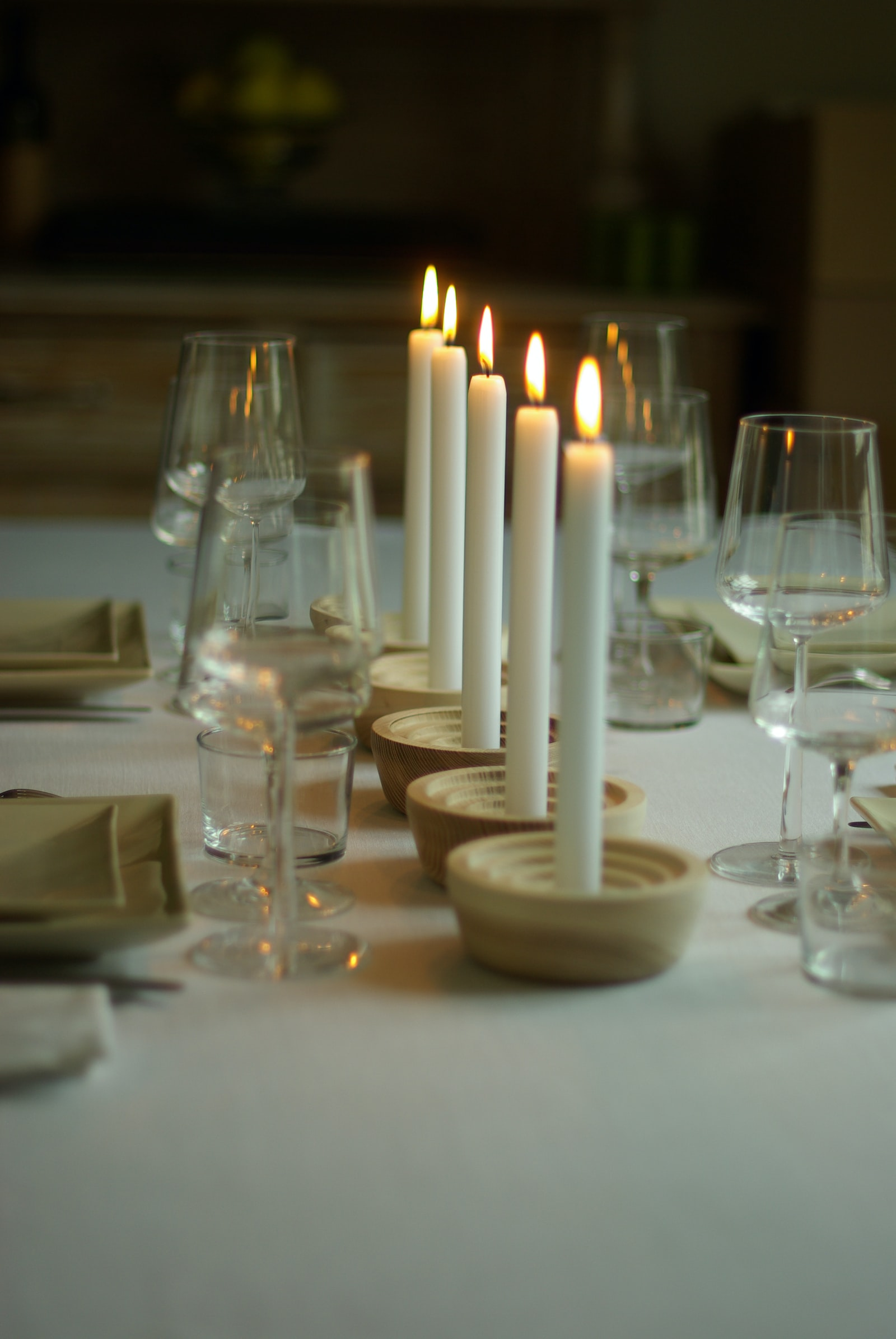 """Pentax K10D sample photo. """"White candles on white"""" photography"""