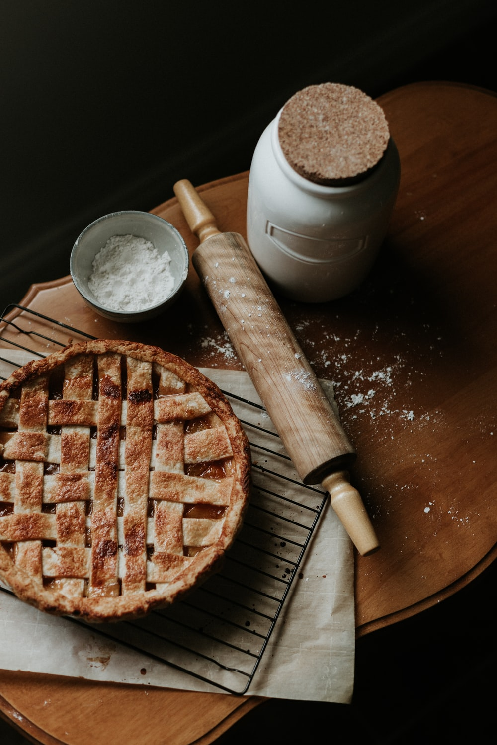 brown waffle on brown wooden chopping board