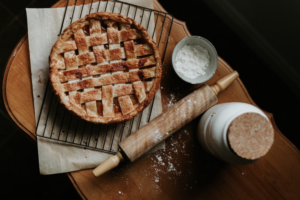 bake a pie together