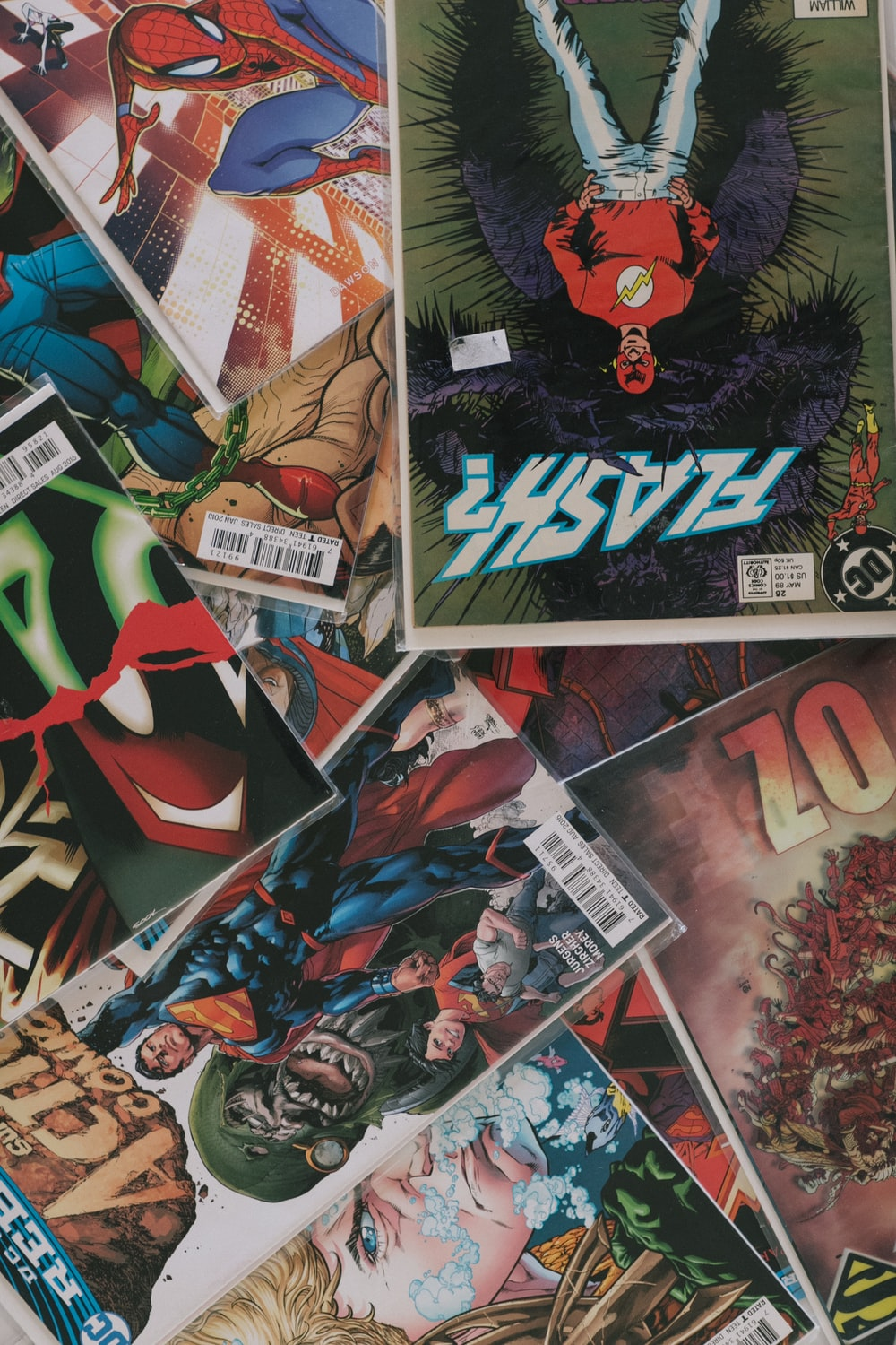 the joker comic book collection