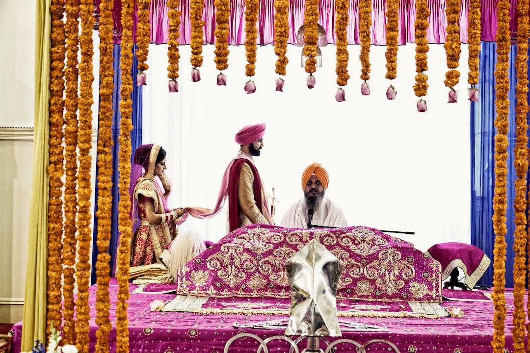 phera ceremony sikh wedding tradition
