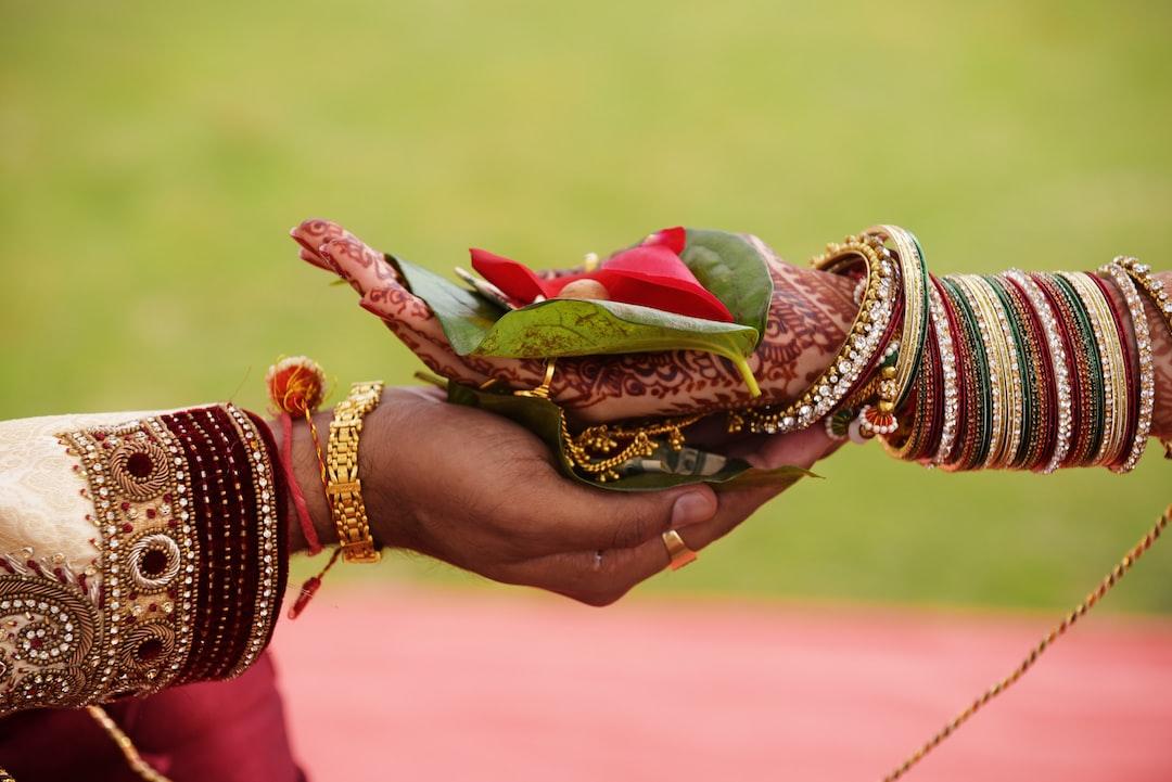 hast melap indian wedding ceremony