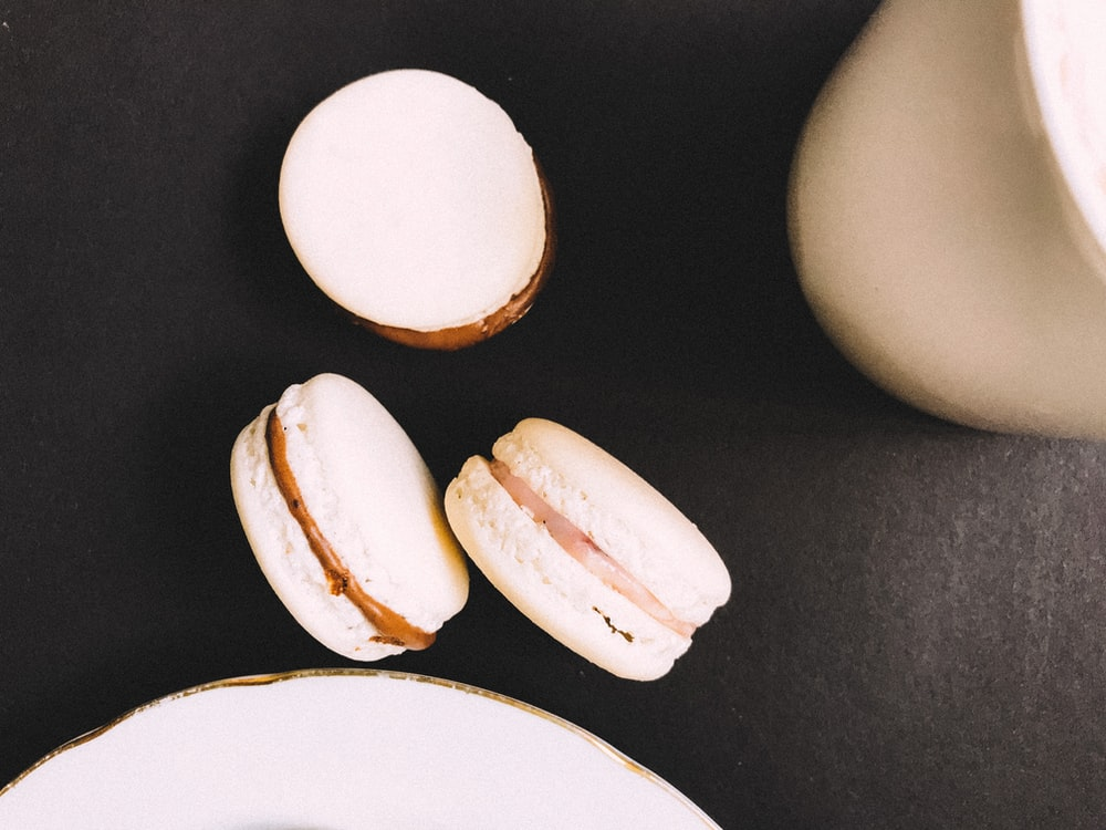 white egg on white plate