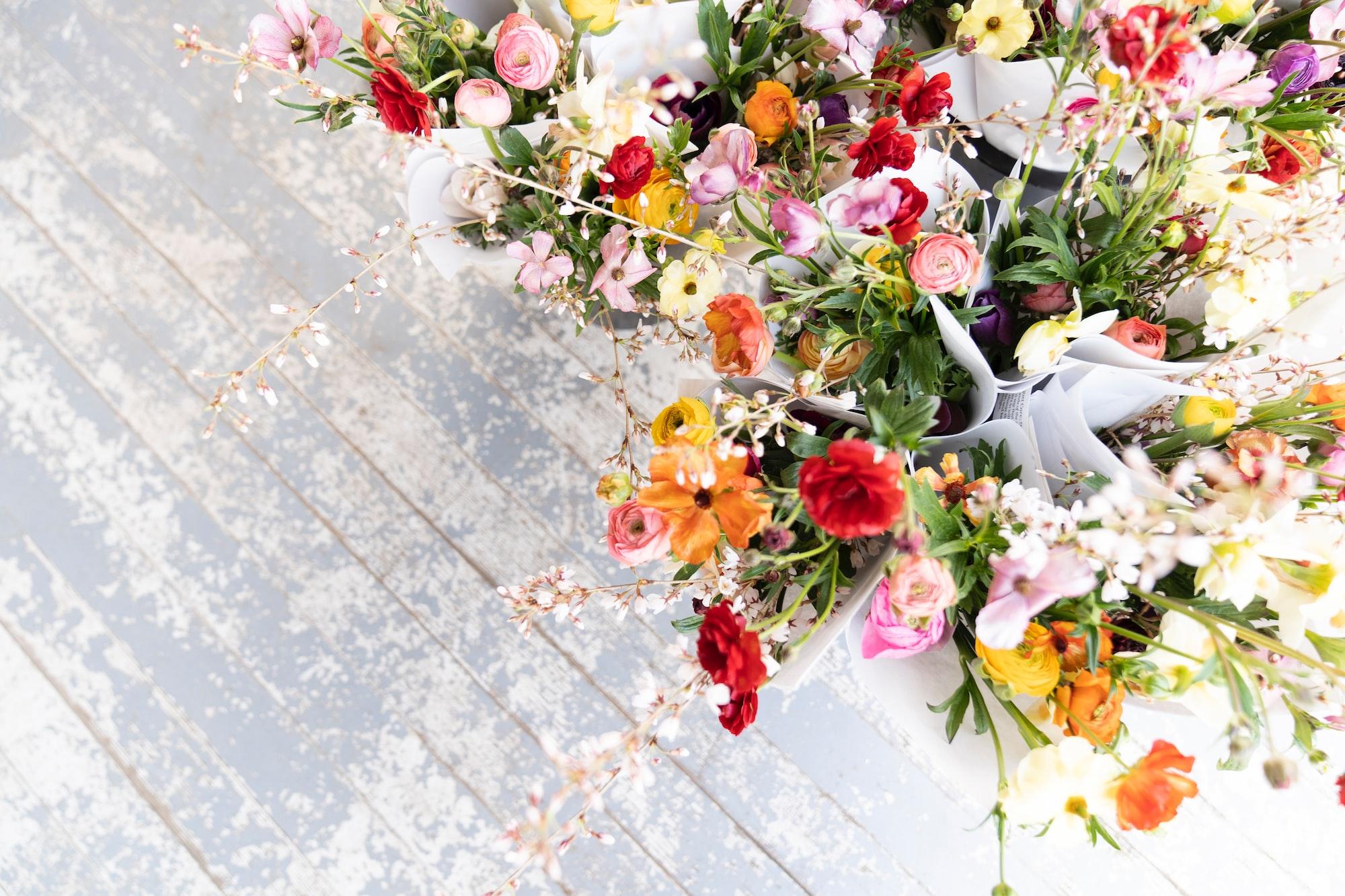 Весенние цветы для букетов