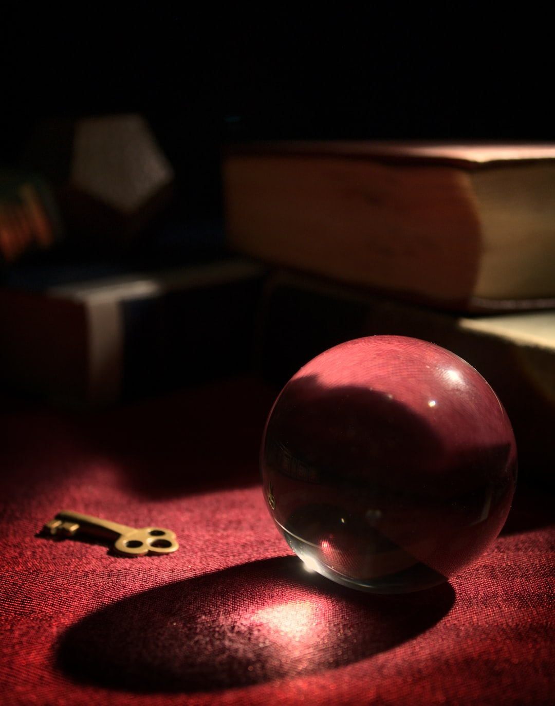 Glass Orb in Study II