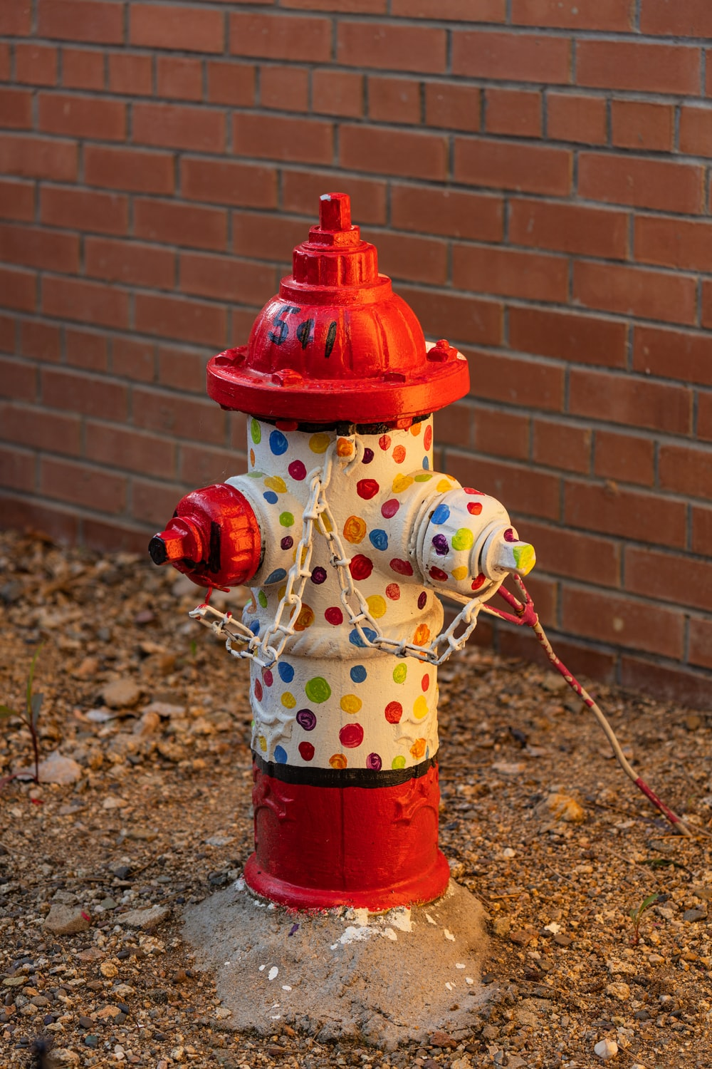 red and white snowman water dispenser