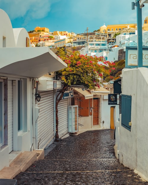 Fira, Places to Visit in Greece in May