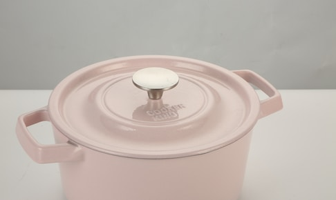 white plastic container with lid