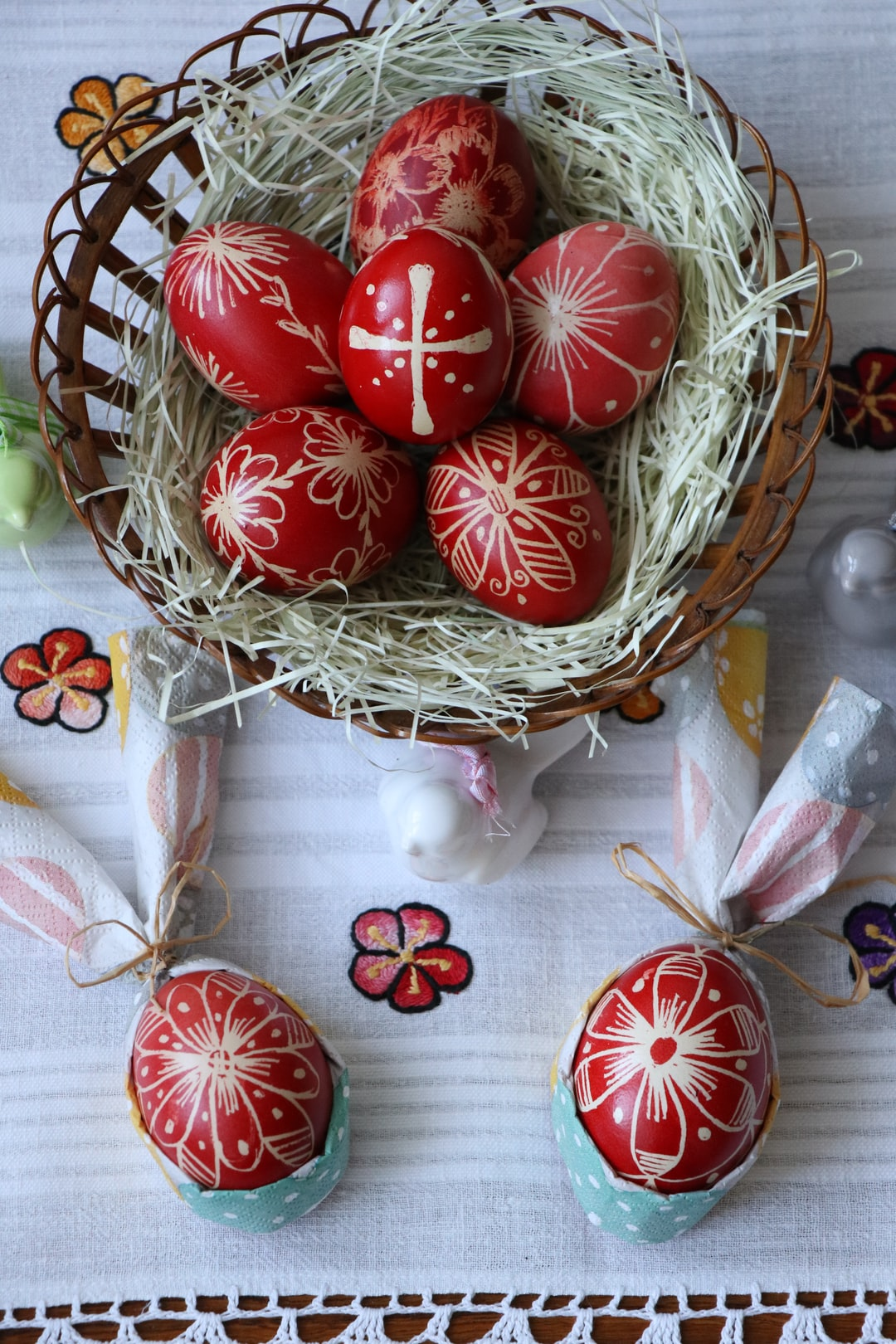 Serbian traditional Easter eggs