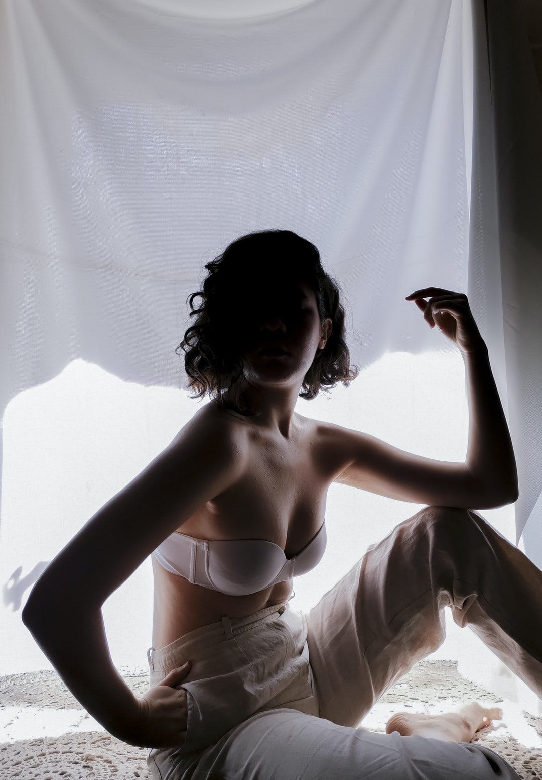 Window, natural light.