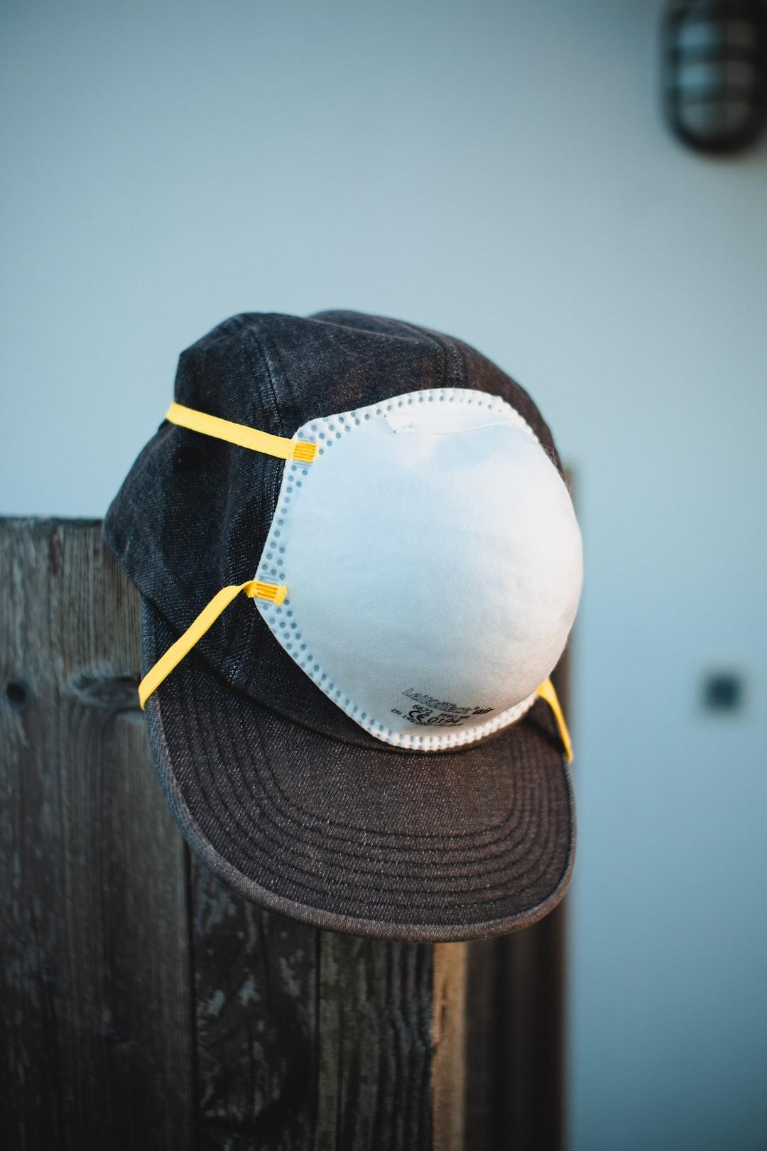 FFP2 Mask over Supreme Denim Cap