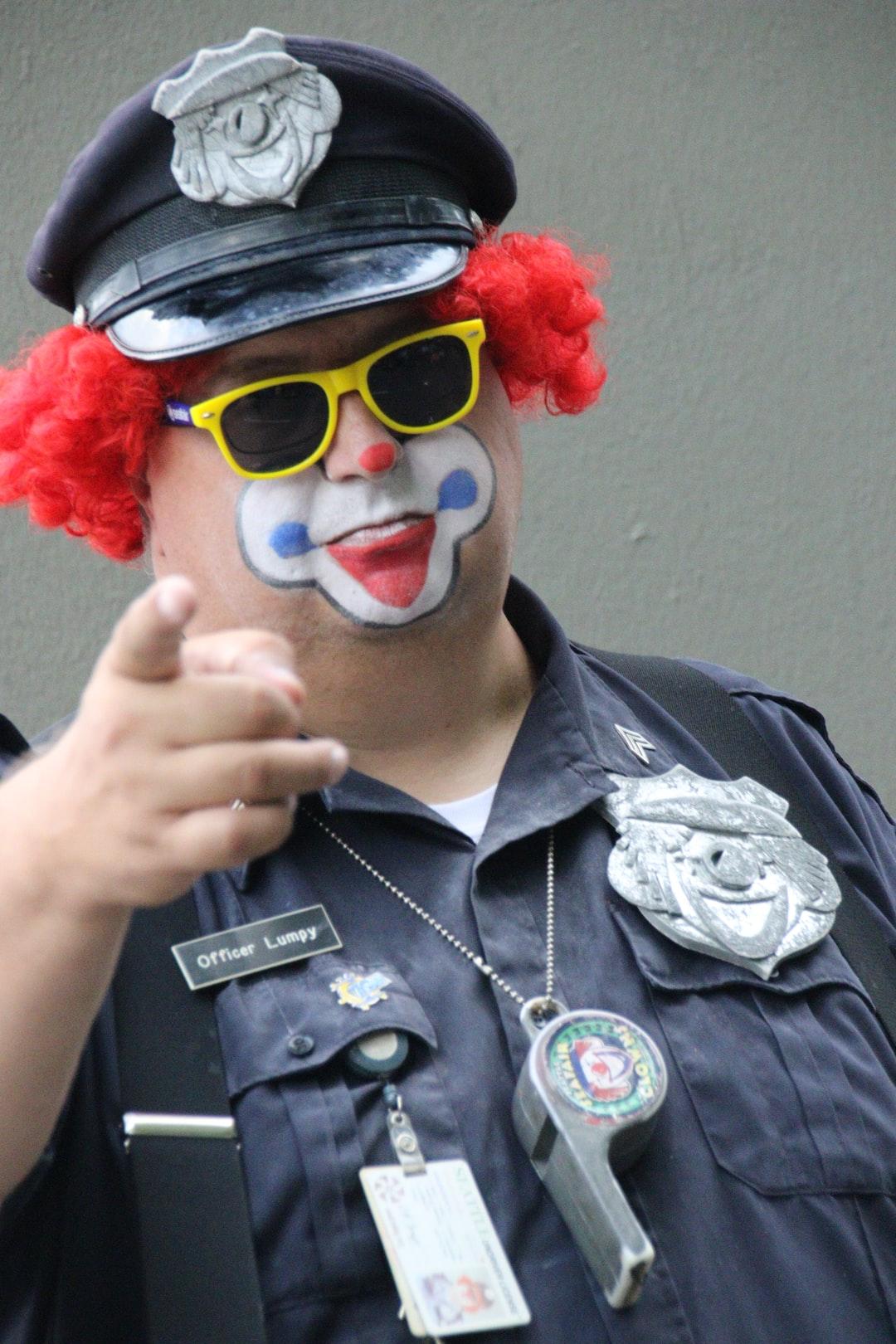 Under arrest - no joke