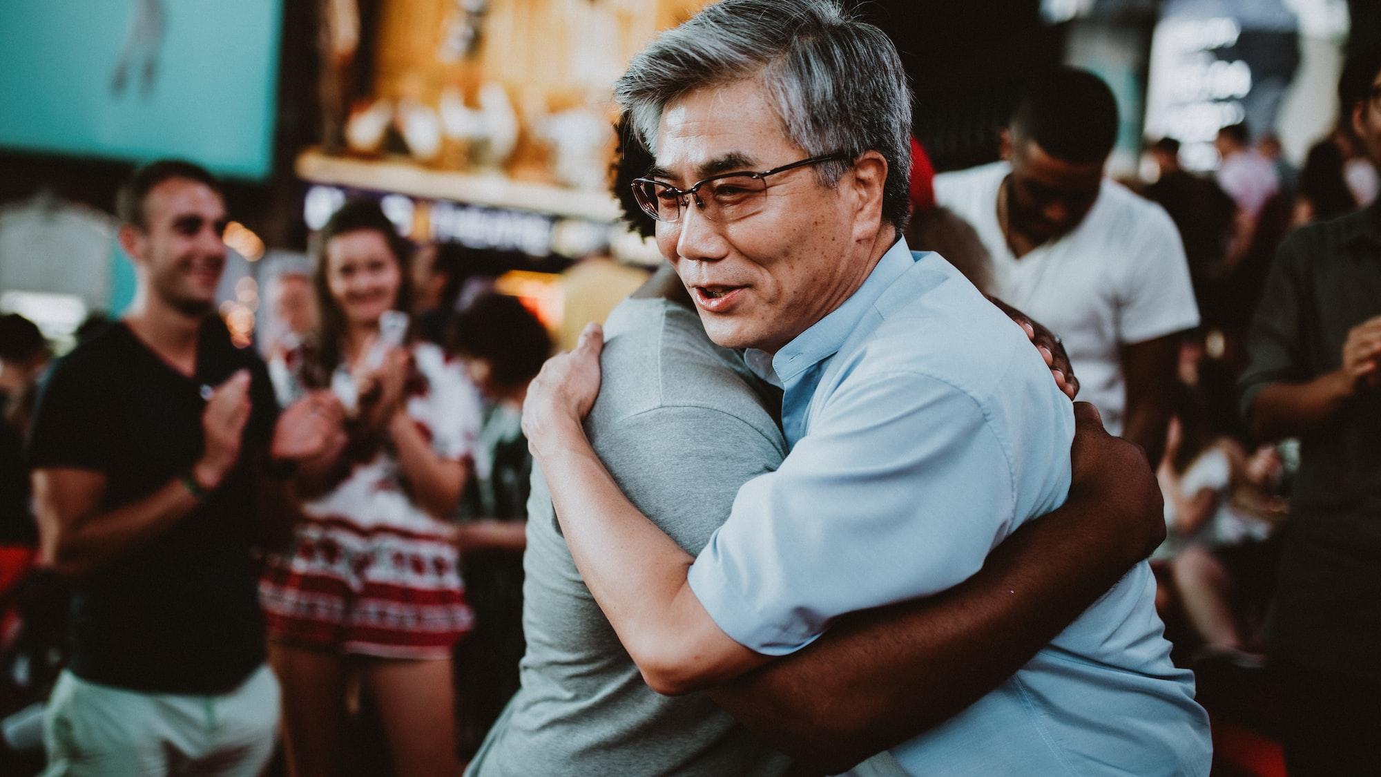 WORSHIP AND HUG