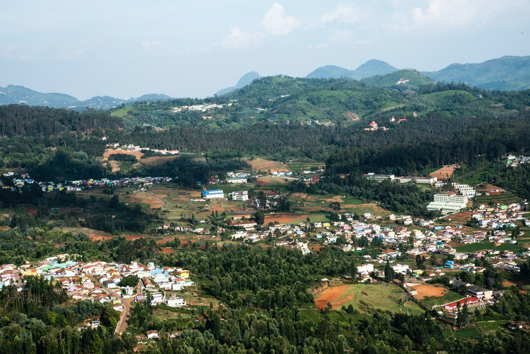 A sunny afternoon in the southern hill station, Ooty.