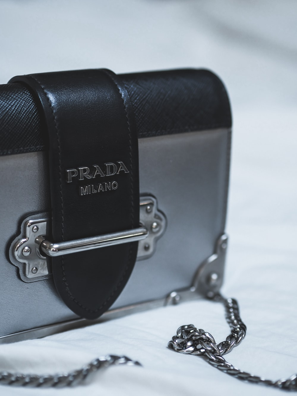 black michael kors leather handbag