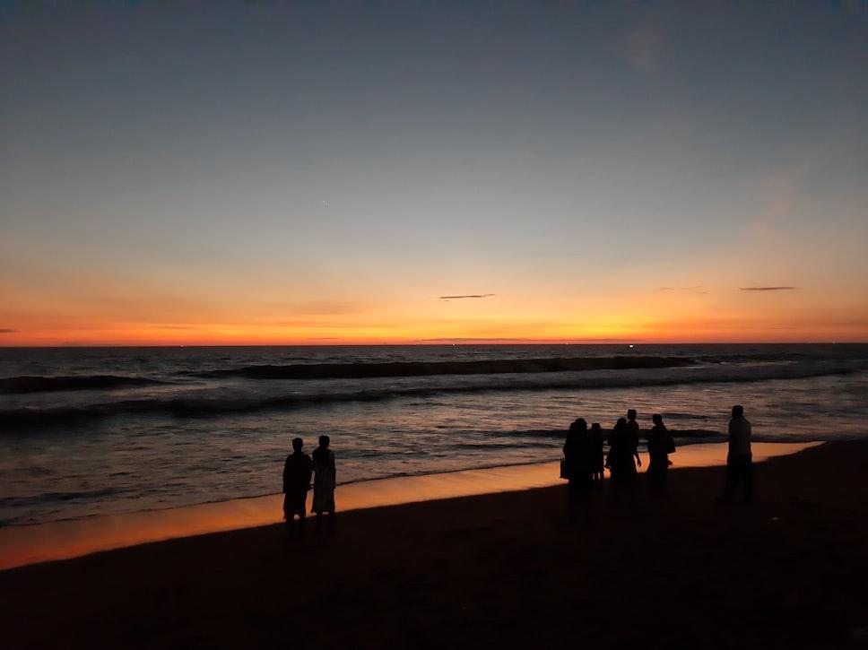 The Shankumugham Beach