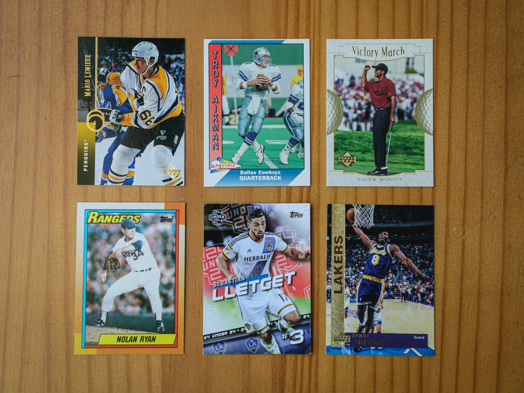 """I don't have any cricket cards, but otherwise these may be the """"Big 6"""" sports in the world...and some of the more well known athletes. Love those Kobe Bryant and Mario Lemieux cards."""