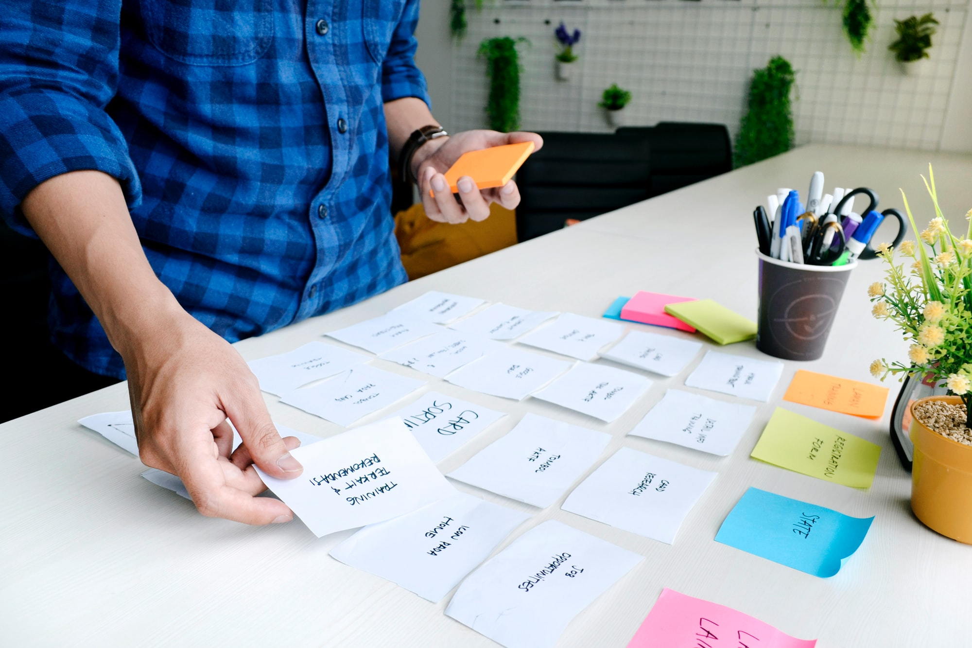 Card sorting is a UX research technique in which users organize topics into groups. Use it to create an Information Architecture that suits your users' expectations. In cart sorting, participants group individual labels written on notecards according to criteria that make sense to them. Card sorting is a highly useful technique in information architecture; it is used to understand how users think about your content. It can help you organize content so that it suits your users' mental models, rather than the point of view of your company.
