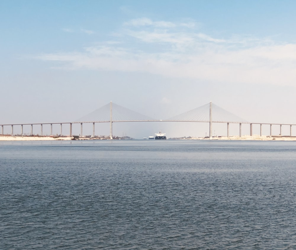 bridge over the sea under blue sky during daytime