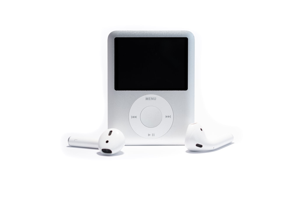 white ipod nano 3 rd gen