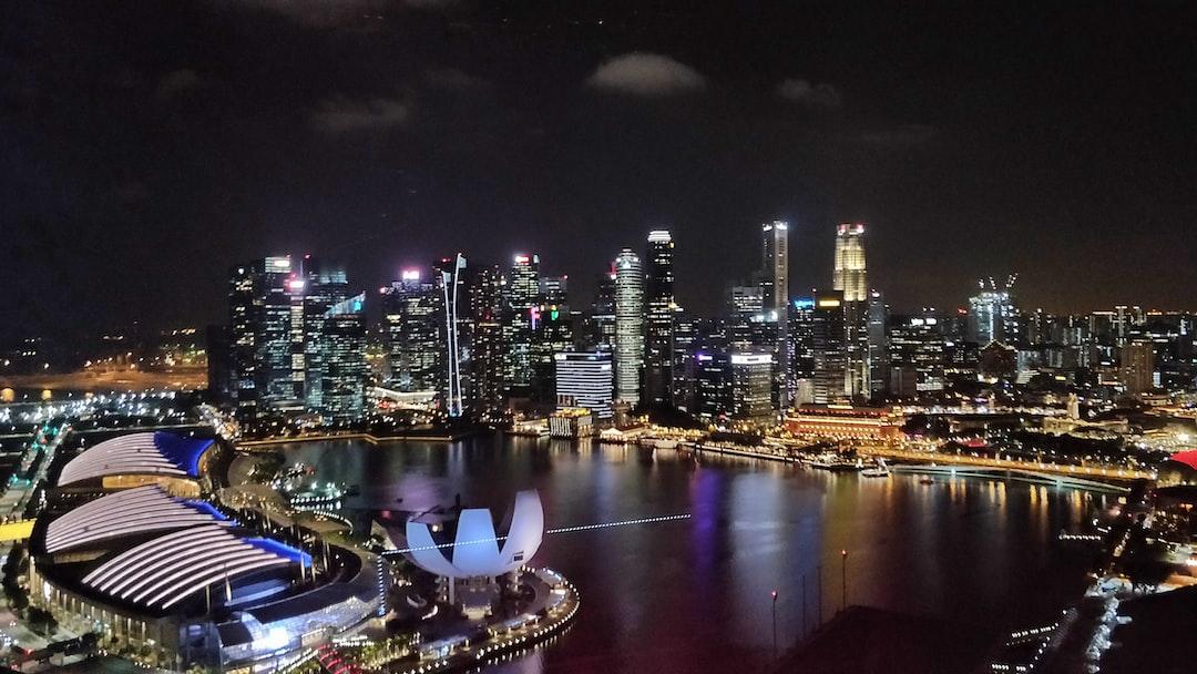 Night view Singapore