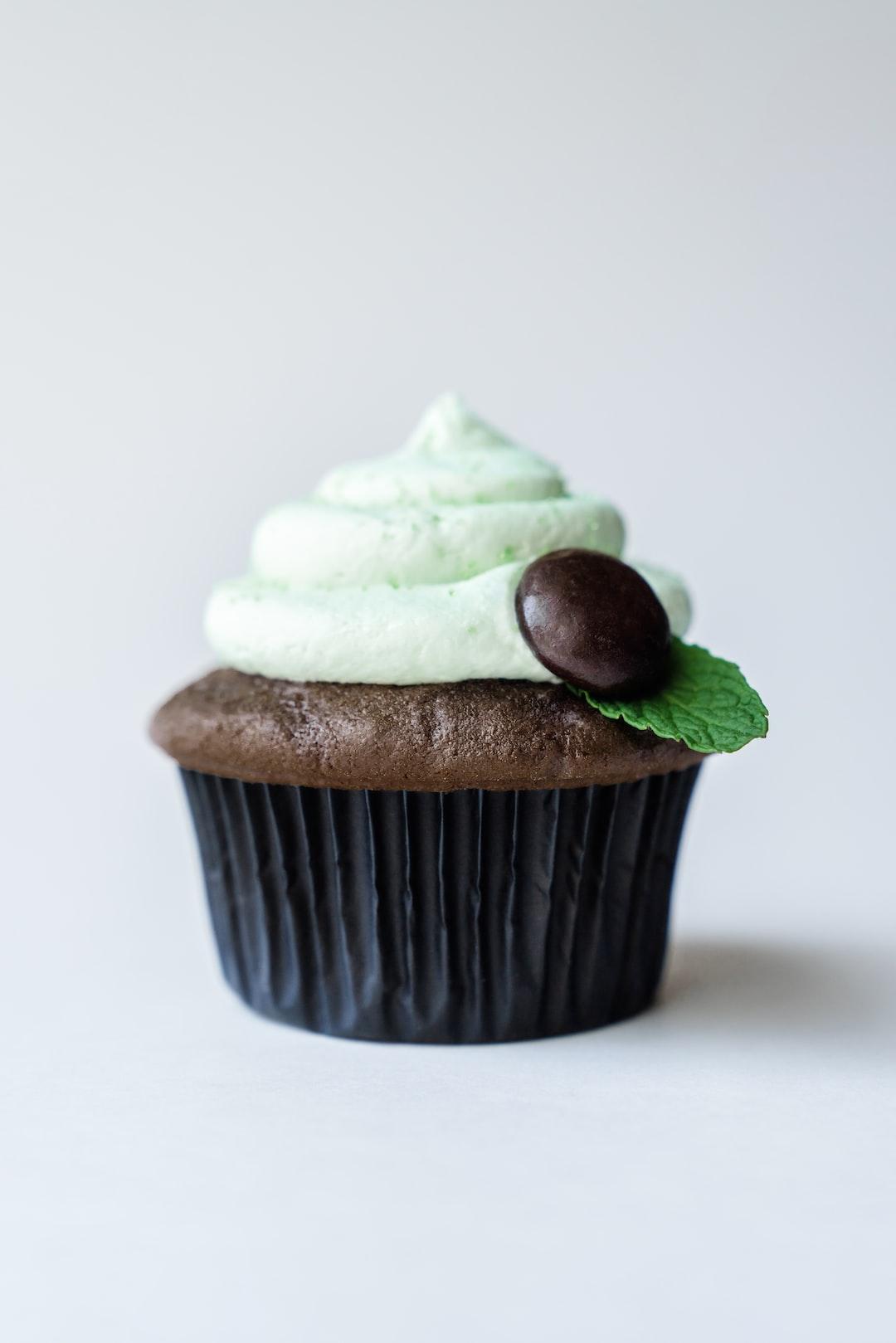 Junior Mints® cupcake.