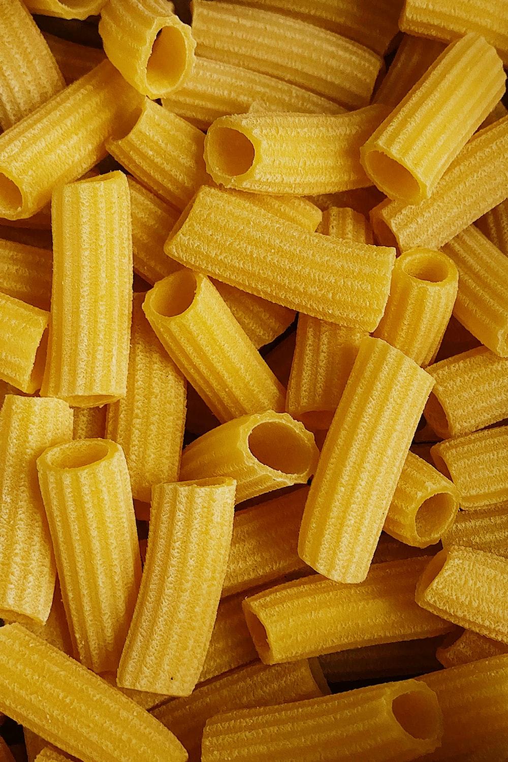 yellow corn on white textile