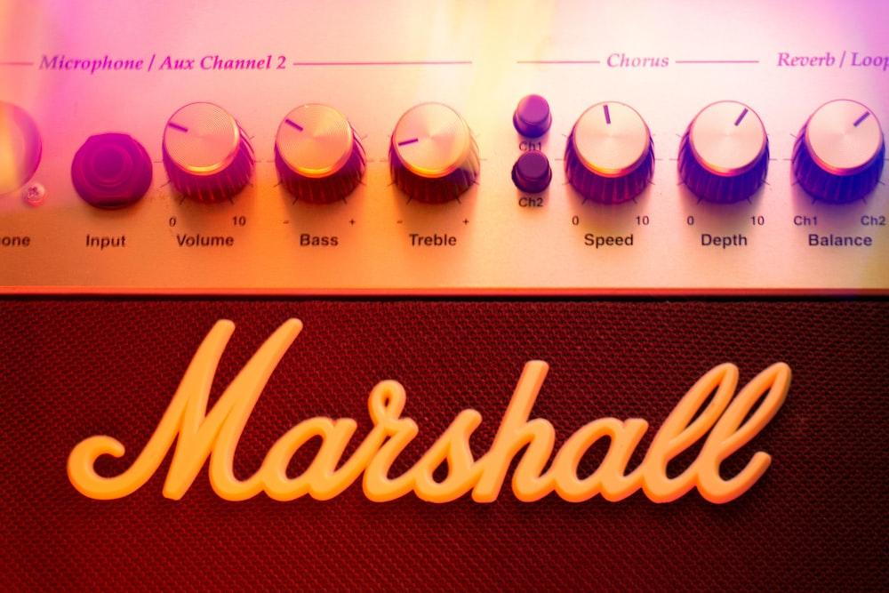 white and purple knob switch