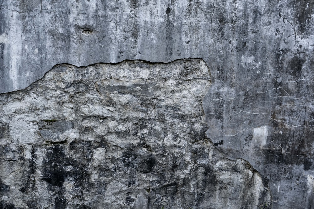 grey and black concrete wall
