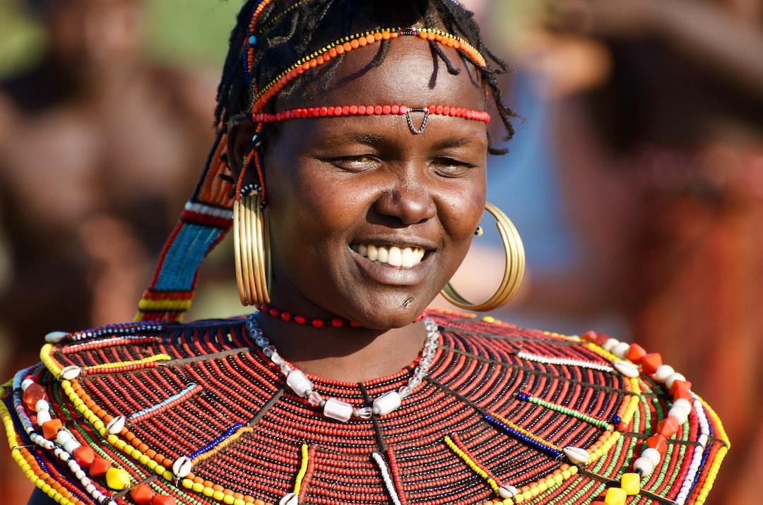 Maasai woman in Koibatek, Kenya