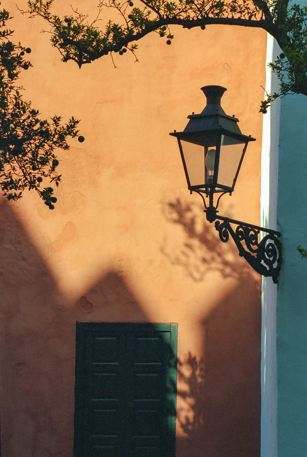 The afternoon shadows on the terracotta walls of the Alcazar gave a nice frame for this old lamp. Love the texture and the film grain in this image. Shot on 35mm film, Canon A2E.