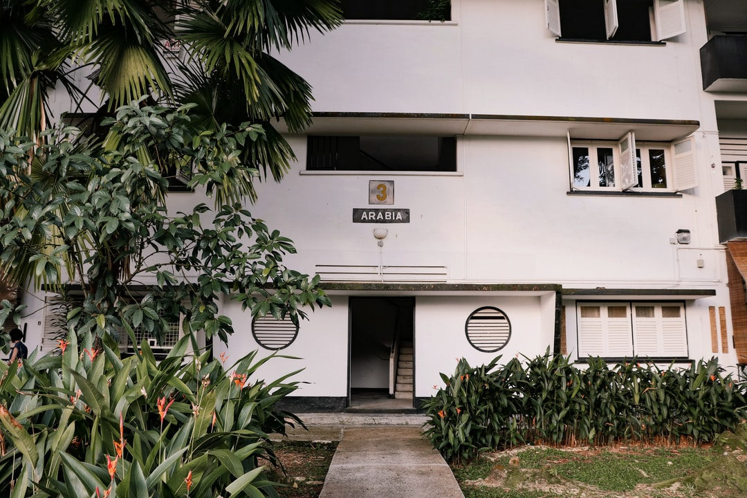 Block 3 (Arabia) of the Wessex Estate, an old colonial estate in Singapore.